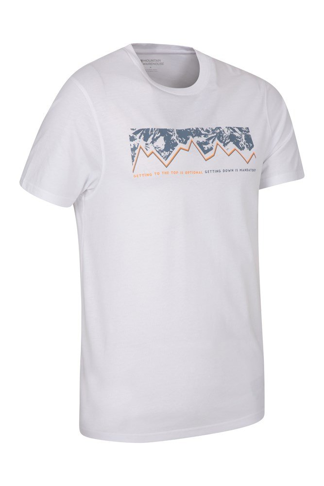 Mountain Warehouse Men Getting To The Top Tee Tshirt