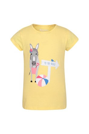 Seaside Donkey Kids Tee