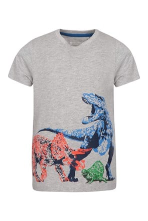 Dino Stack Kids T-Shirt