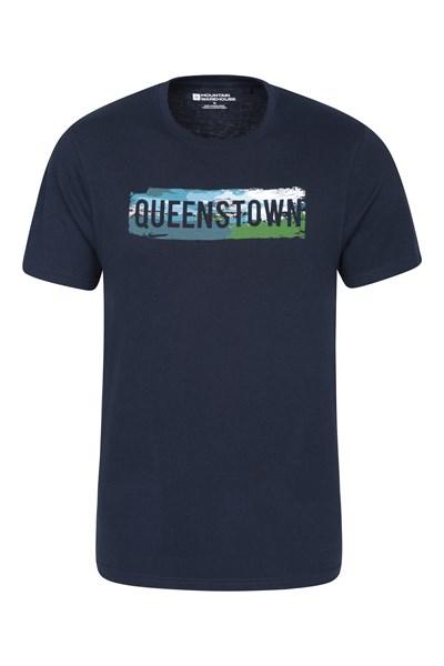 Queenstown Mens T-Shirt - Navy