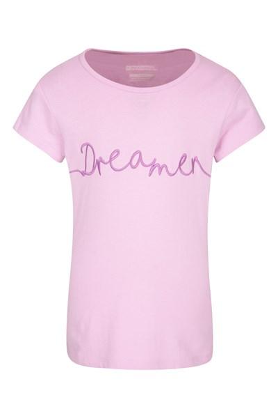Dreamer Kids T-Shirt - Purple