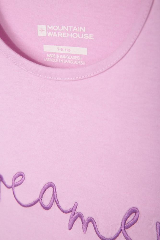 Bangladesh text Pink Kids T-Shirt