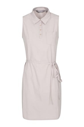 Travelling Stretch Womens Shirt-Dress
