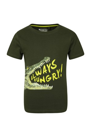 EC Hungry Crocodile Kids Tee