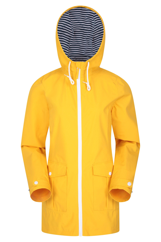 Padstow Womens Waterproof Jacket - Yellow