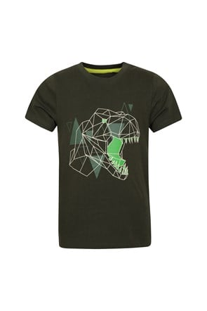 Glow In The Dark Dino Kids Tee