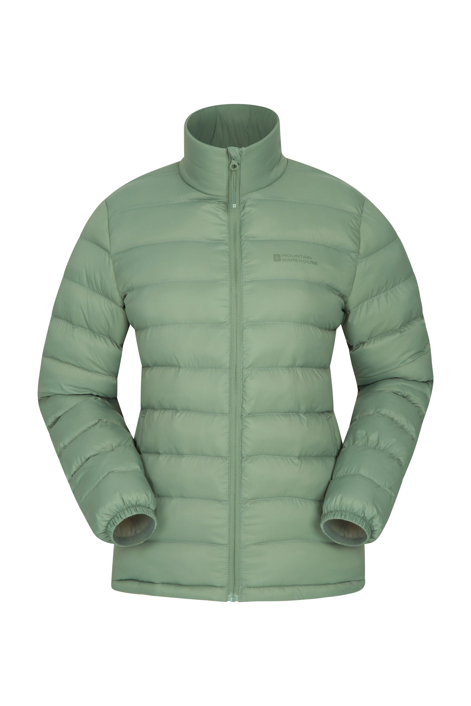 Vista Womens Padded Jacket - Green