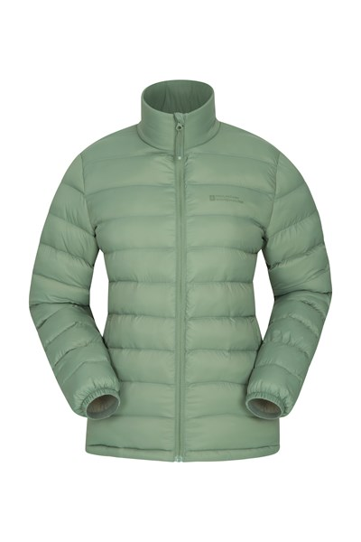 Vista Womens Padded Jacket - Green