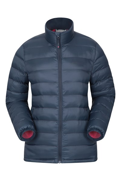 Vista Womens Padded Jacket - Navy