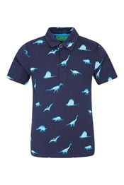 Printed Kids Polo Shirt