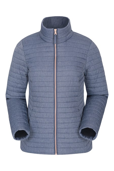 030211 QUILTED WOMENS PADDED JACKET