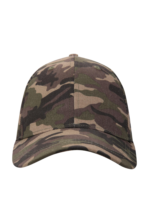 Camo Baseball Cap - Green