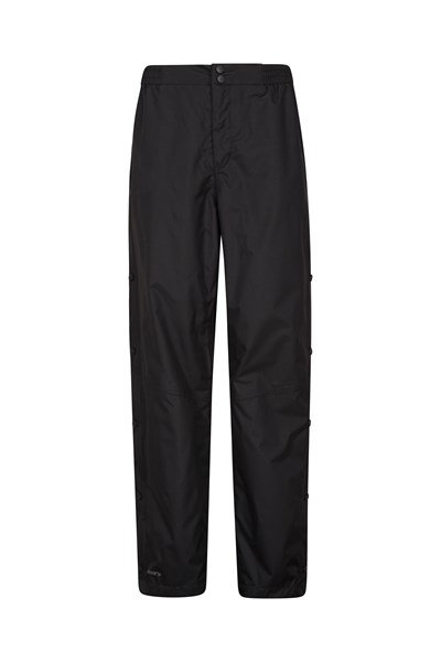 Extreme Downpour Womens Overtrousers - Short Length - Black