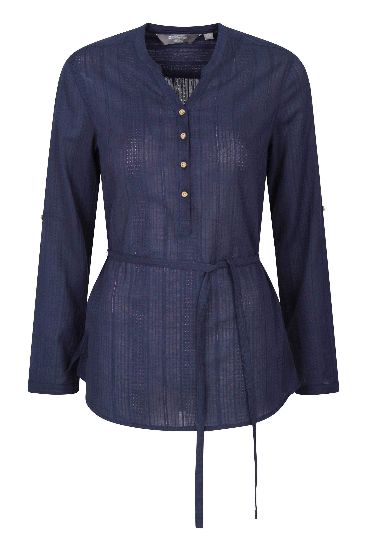 Orlando Damen Langarm-Shirt - Marineblau