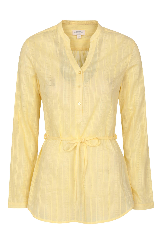 Orlando Damen Langarm-Shirt - Gelb