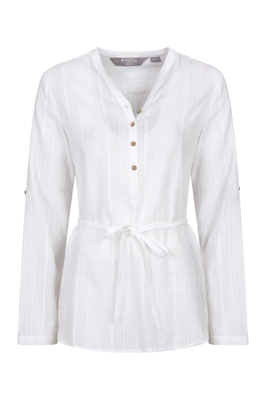 Orlando Damen Langarm-Shirt - Weiss