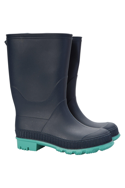 Bottes de pluie Unies Enfants - Bleu Marine