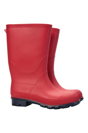 Plain Kids Wellies