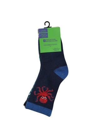 Ocean Kids Ankle Socks - 5 Pack