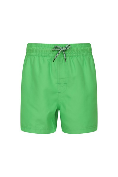 Aruba Kids Swim Shorts - Green