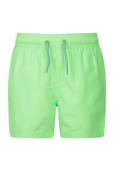 Aruba Kids Swim Shorts - Green
