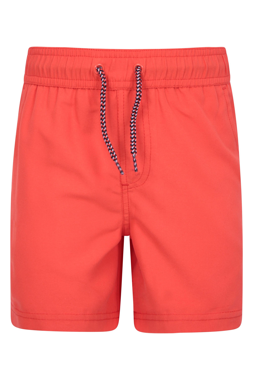 Aruba Kids Swim Shorts - Orange