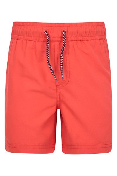 Aruba Kids Swim Shorts - Orange
