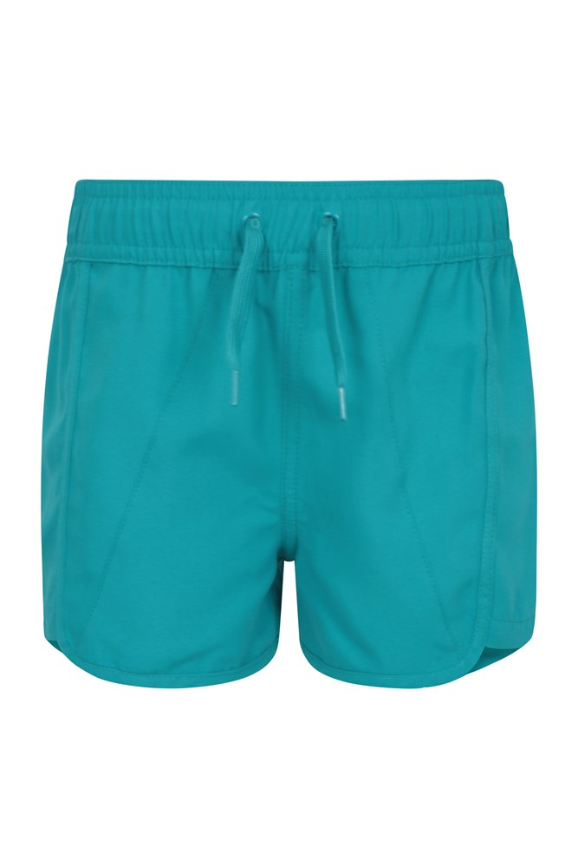 Panama Kids Swim Shorts - Green