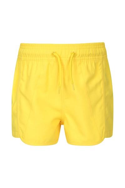 Panama Kids Swim Shorts - Yellow