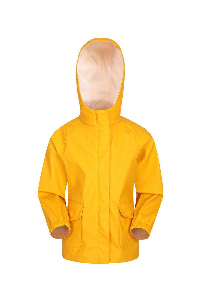 Rain On Kids Waterproof Jacket - Yellow