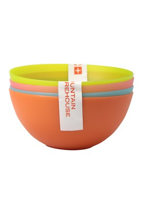 Plastic Bowls - Set of 4