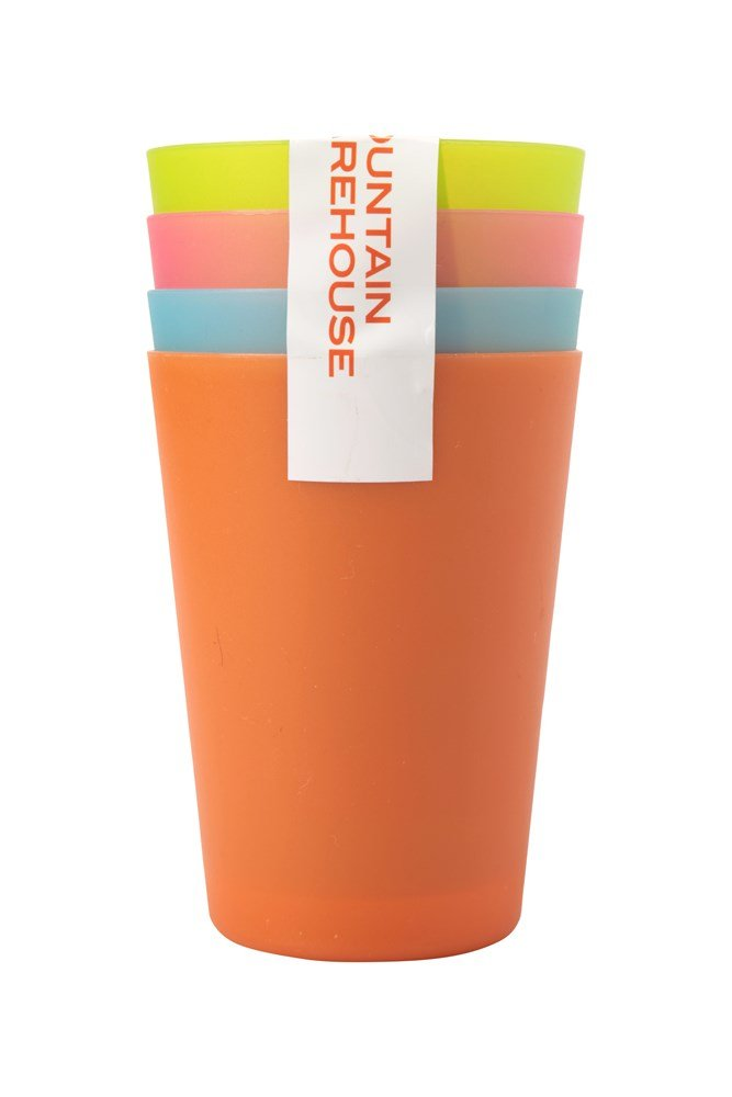 Plastic Cups - Set of 4 - ONE