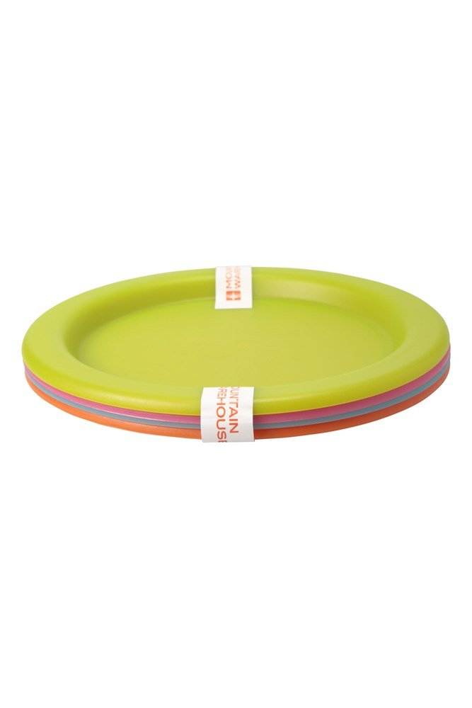 Plastic Plates - Set of 4 - ONE