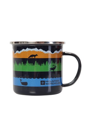 Wildlife Enamel Mug