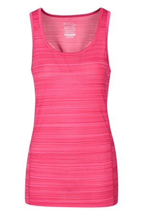 Endurance Striped Womens Vest