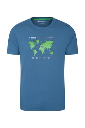 T-Shirt Hommes Grid Map II