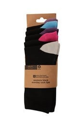 Womens Everyday Socks - 5 Pack