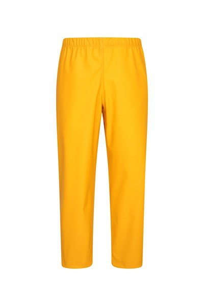 Rain On Kids Overtrousers - Yellow