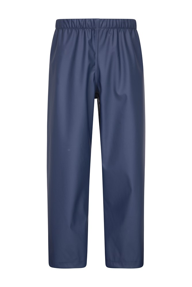 Rain On Kids Overtrousers - Navy