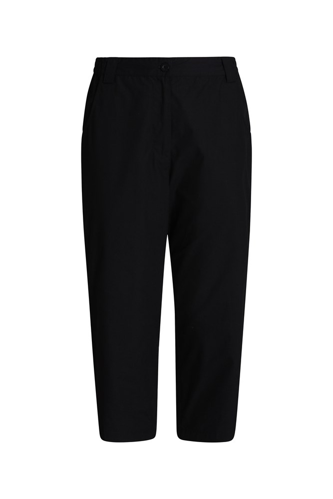 Quest Womens Capri-Trousers - Black
