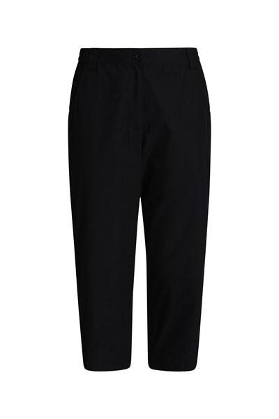 Quest Womens Capri-Trousers - Black
