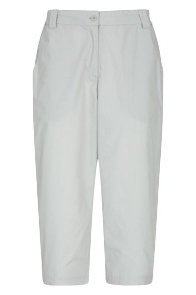 Quest Womens Capri-Trousers - Grey