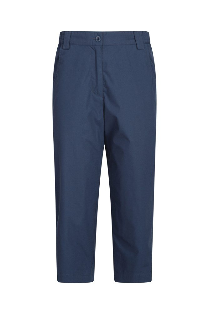Quest Womens Capri-Trousers - Navy
