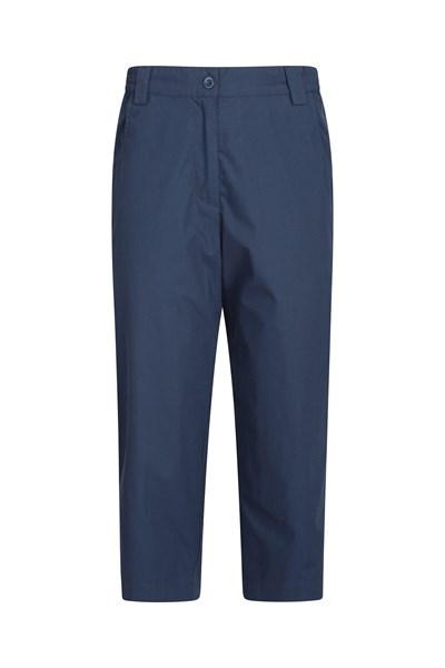 Quest Womens Capri-Trousers - Navy
