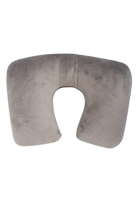 030334 EASY INFLATE FLEECE NECK PILLOW