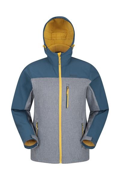 Alto Mens Softshell Jacket - Dark Grey