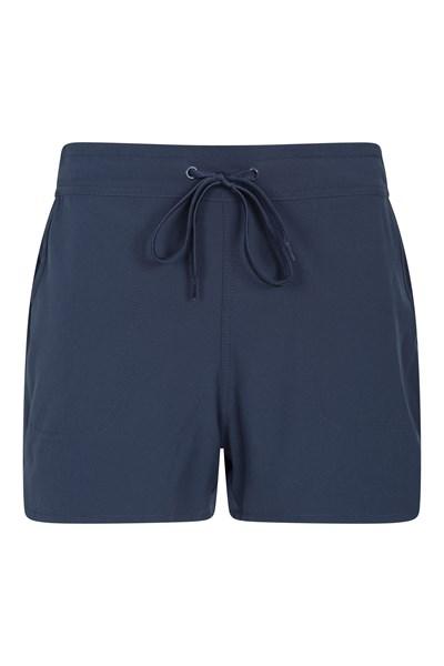 Womens Stretch Board Shorts - Navy