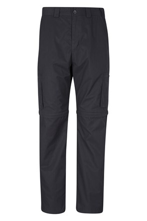 Trek II Mens Zip-Off Trousers -Short