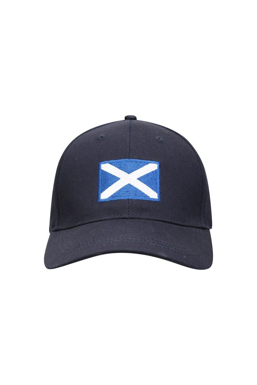 Scotland Flag Mens Baseball Cap - Navy