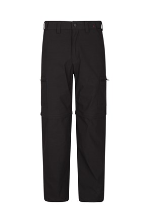 Trek Stretch Mens Zip-Off Pants - Short Length